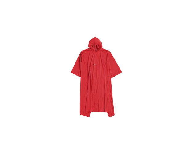 PONCHO JUNIOR PVC, RED, large