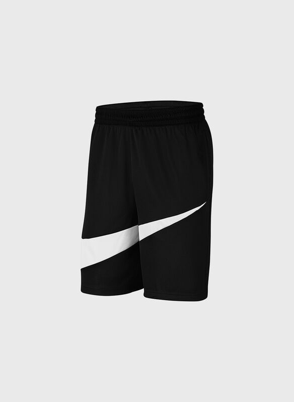 BERMUDA BASKET SWOOSH DRI-FIT, 011BLKWHT, medium