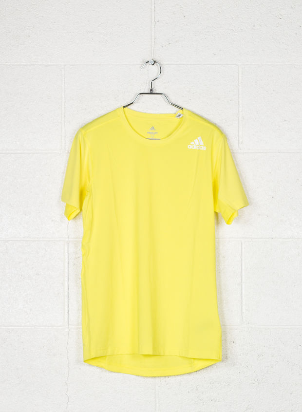 T-SHIRT FREELIFT FITTED ELITE, YELLOW, large