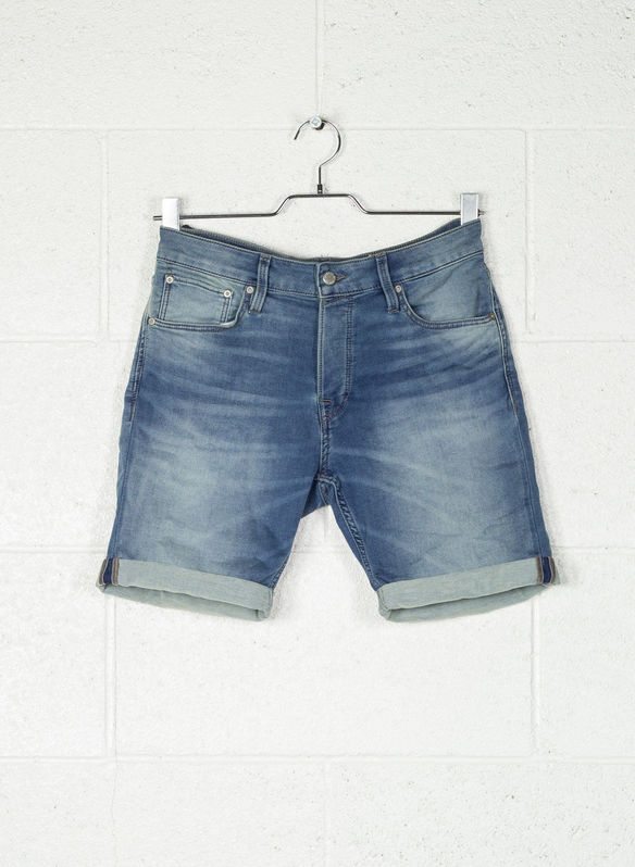 BERMUDA JEANS RICK GE797, BLUE DENIM, medium