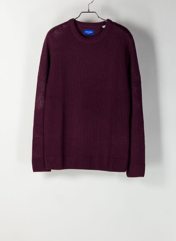 MAGLIONE GROOVE GIROCOLLO, FIG BORDO, medium