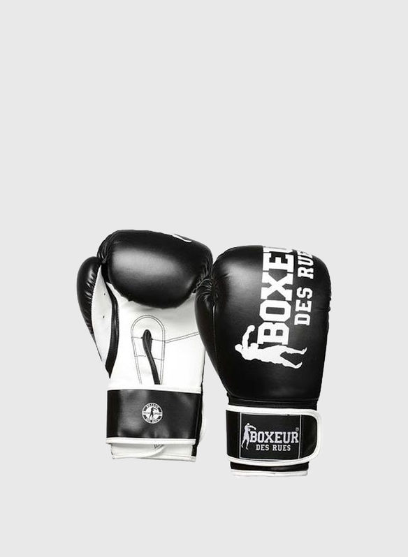 GUANTO BOXE IMPACT 8OZ, BLK, medium