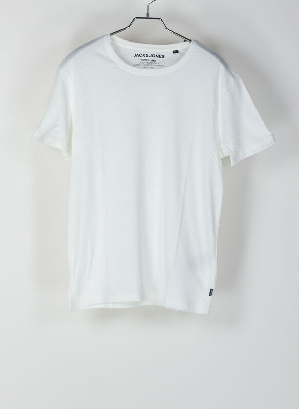 T-SHIRT LINEM BASIC, CLOUD, medium