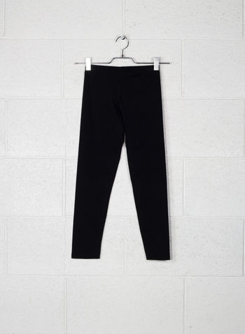 LEGGINGS SMALL LOGO, NERO, small