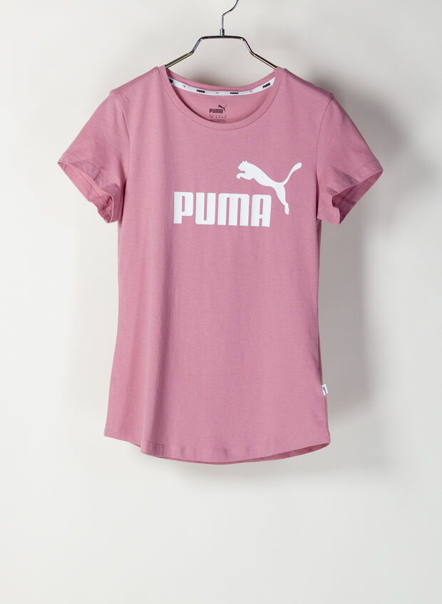 T-SHIRT ESSENTIAL LOGO, 16PINK, large
