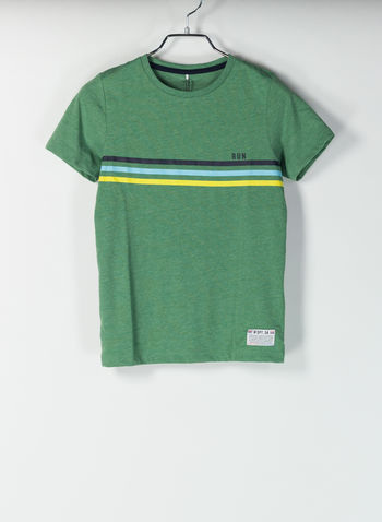 T-SHIRT DENNIS VINTAGE, GREEN, small
