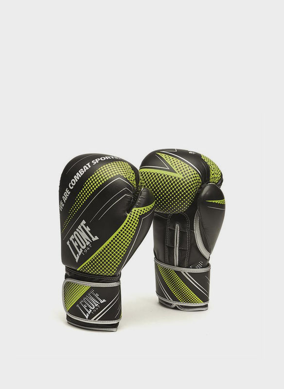 GUANTI BOXE BLITZ 10 OZ, BLKLIME, medium