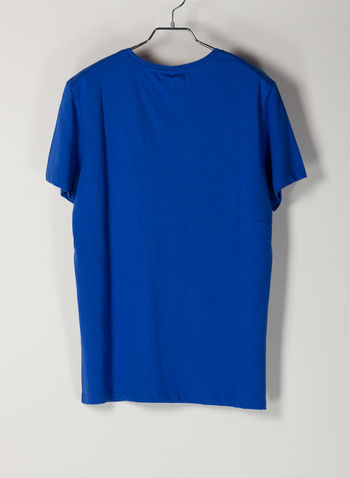 T-SHIRT STAMPA, 74637ELECTRIC BLU, small