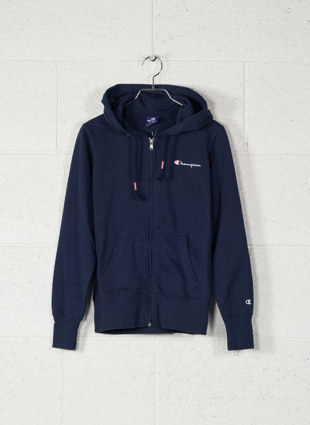 FELPA CL FULL ZIP, BS503NVY, large