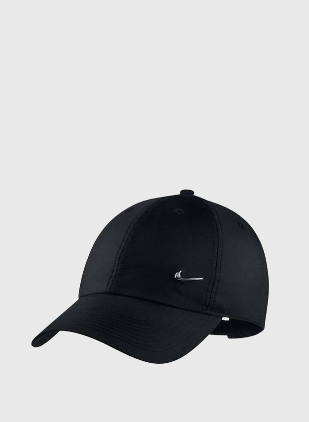 CAPPELLO METAL SWOOSH, 010BLK, large