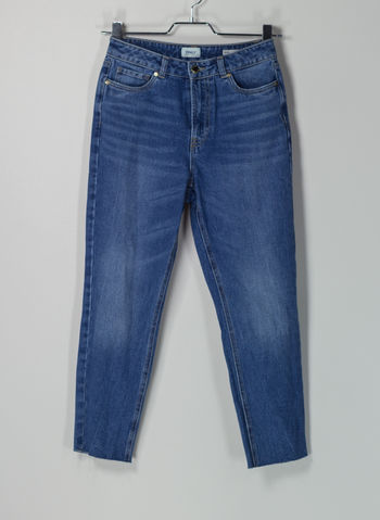 JEANS ONLFAYE HW ANKLE STRAIGHT FIT, MEDIUM BLUE, small