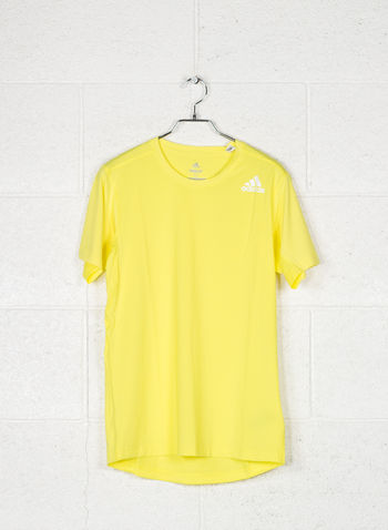 T-SHIRT FREELIFT FITTED ELITE, YELLOW, small