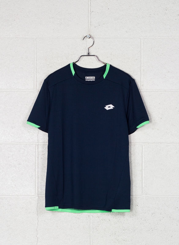 T-SHIRT TENNIS TECH, 1CI NVY, medium
