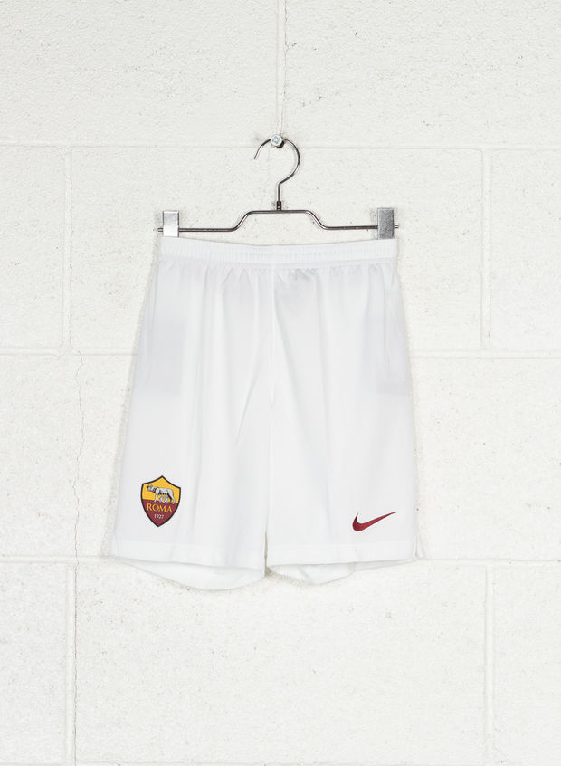 SHORTS AS ROMA 2019-20 HOME RAGAZZO, 100WHT, large