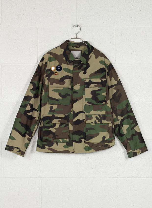 JACKET JORCRETE FIELD, THIME CAMO, large