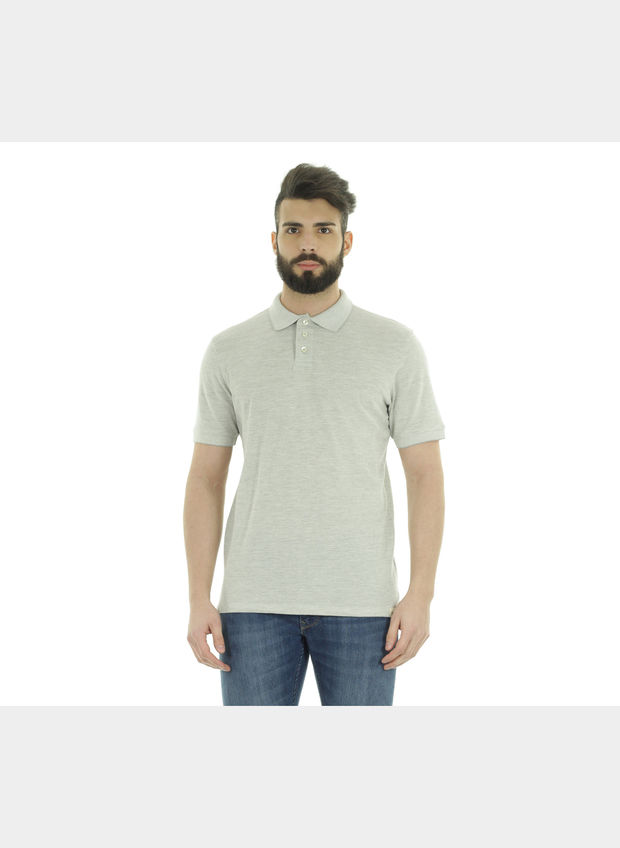POLO PIQUET , PY37 GREY, large