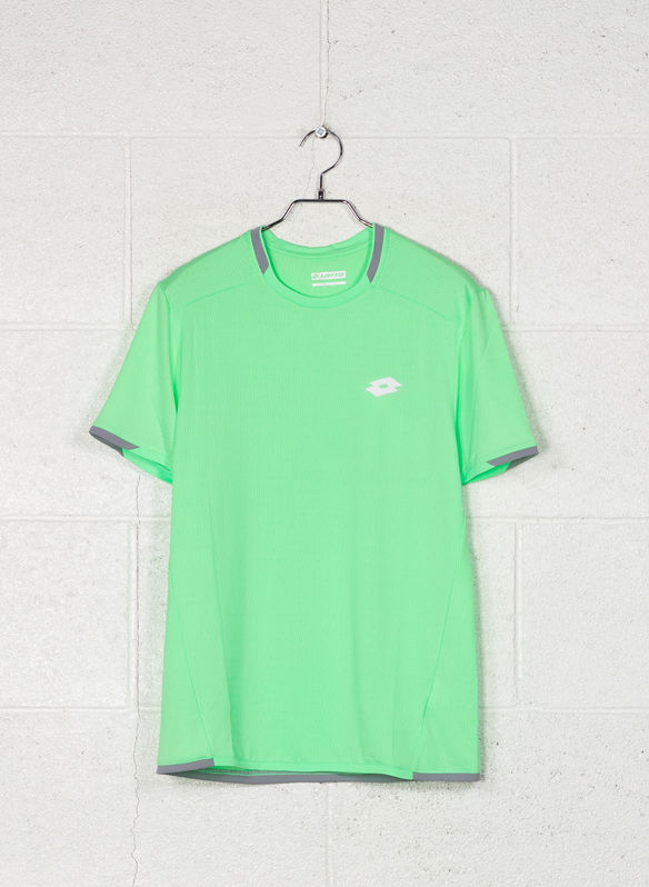 T-SHIRT TENNIS TECH, 1CR APPLE, medium