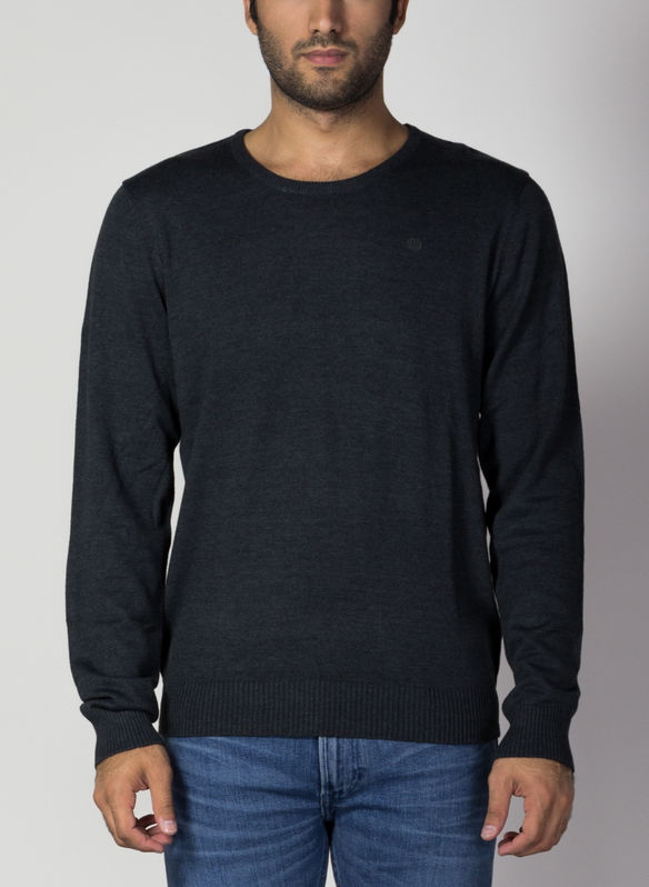 MAGLIONE CLASSIC, 70818CHARCOAL, medium
