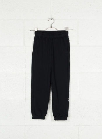 PANTALONI ESSENTIALS LINEAR RAGAZZO, BLK, small