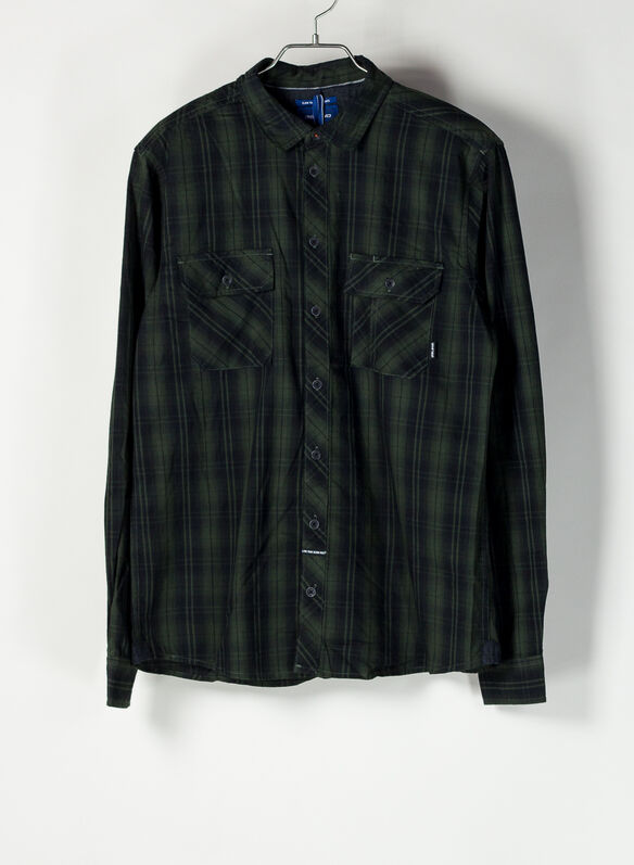 CAMICIA CHECK, 190509MILIBLK, medium