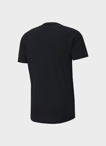 T-SHIRT EVOSTRIPE, 01BLK, small