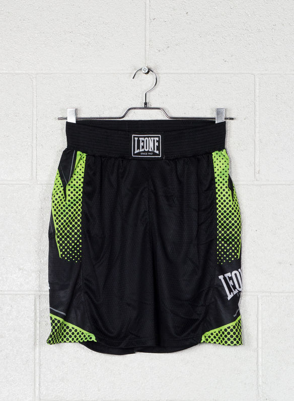 PANTA BOXE BLITZ, BLKGREEN, medium
