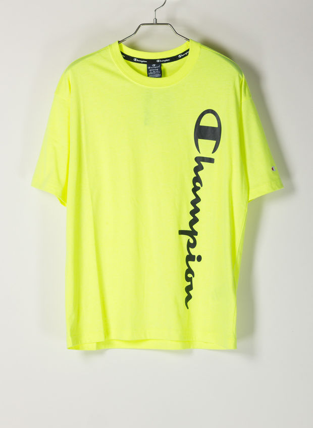 T-SHIRT AMERICAN CLASSIC FLUO, YF002LIME, large