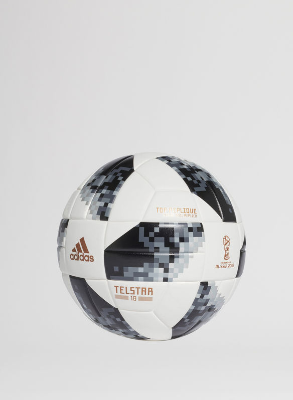 PALLONE FIFA WORLD CUP TOP REPLIQUE, WHTBLKSIL, medium