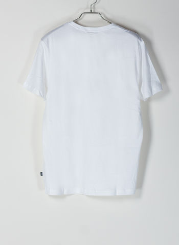 T-SHIRT ESSENTIALS CON LOGO PICCOLO, 22WHT CAT, small