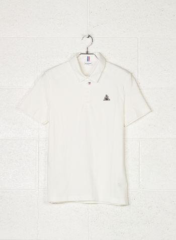 POLO LCS TECH, WHT, small