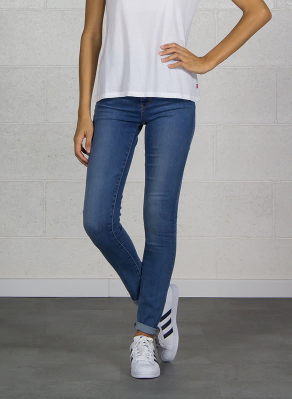 JEANS 721 HIGH RISE SKINNY, CHIARO, medium