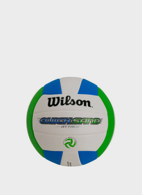 PALLONE BEACH VOLLEY QUIKSAND, WHTAZZGREEN, medium