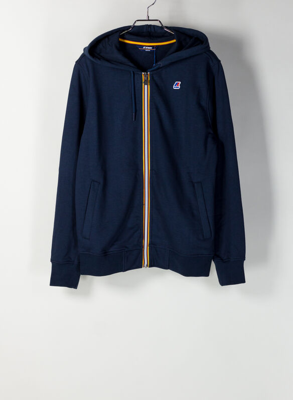 FELPA ANTHONY FULL ZIP, K89BLUE, medium