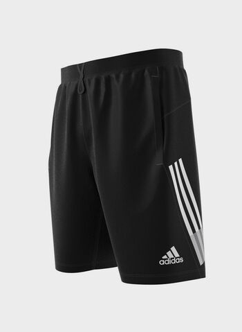 SHORT 4KRFT 3-STRIPES 9-INCH, BLK, small