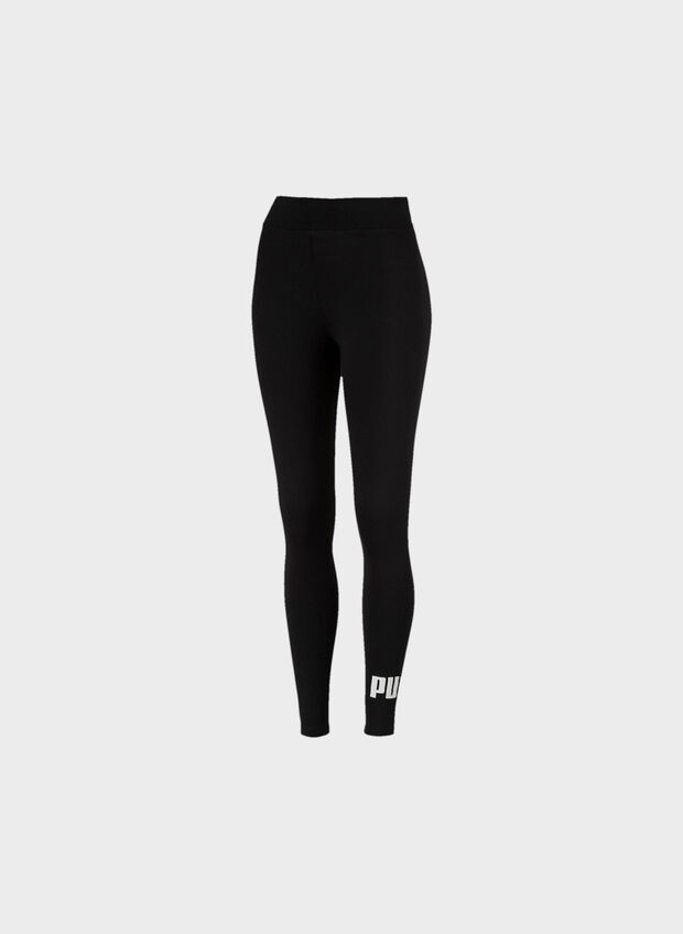LEGGINGS CON LOGO ESSENTIALS, 01BLKWHT, large