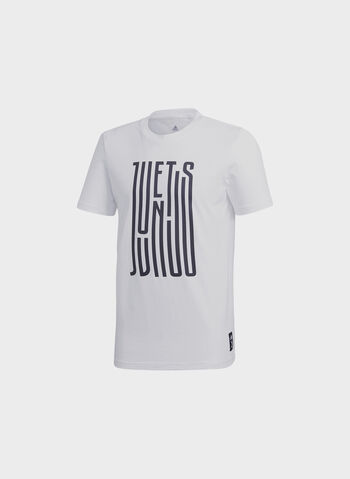T-SHIRT JUVENTUS GRAPHIC, WHTBLK, small