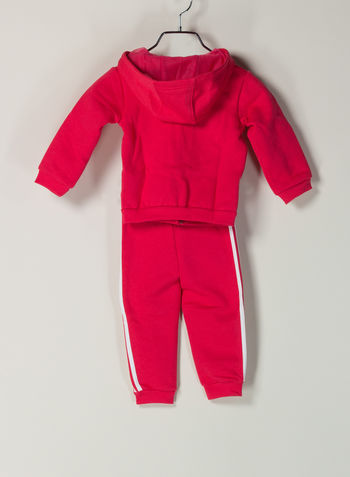 TUTA LOGO HOODED BIMBA, FUXIA, small