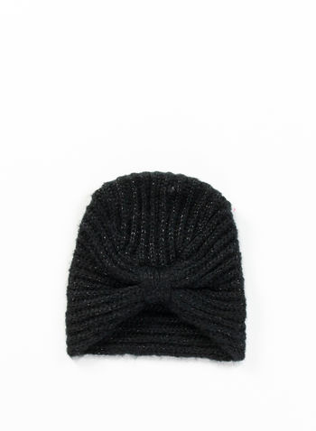 CAPPELLO TURBAN, BLK, small