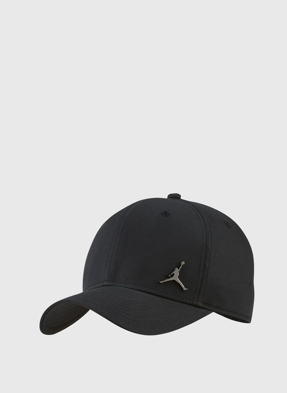 CAPPELLO JORDAN VISIERA METAL BLK, 014BLK, medium
