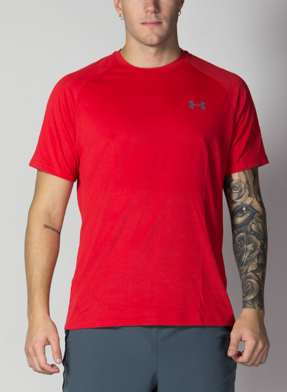 T-SHIRT TECH TRAINING, RED, medium