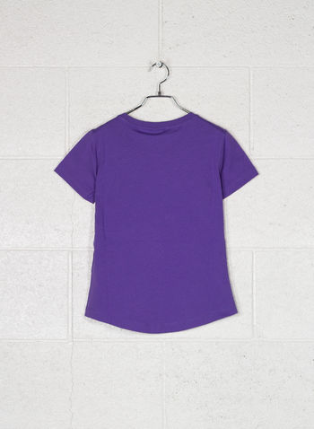 T-SHIRT ARCOBALENO LOGO, VS040LILLA, small