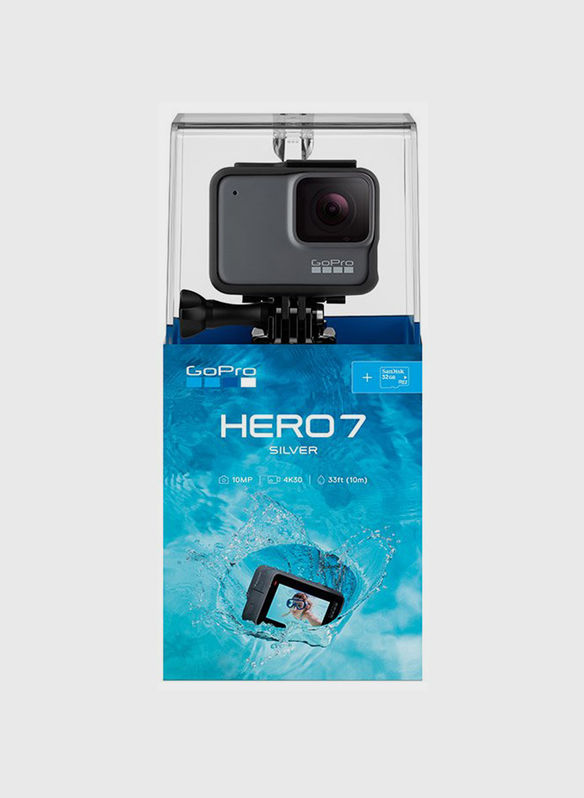TELECAMERA HERO 7 SILVER, SILVER, medium