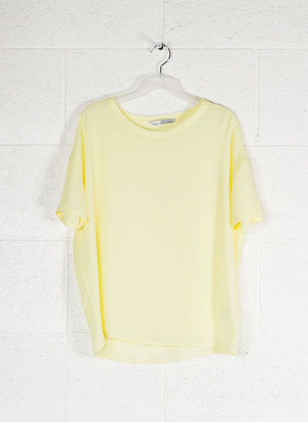 BLUSA MC LIGHT, GIALLO, large