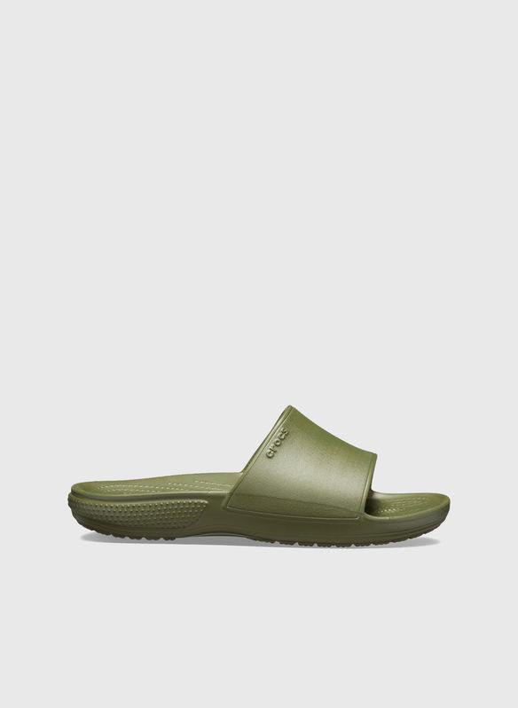 CIABATTA CLASSIC II SLIDE UNISEX, ARMY GREEN, medium