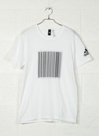 T-SHIRT ATH BARCODE, WHT, small