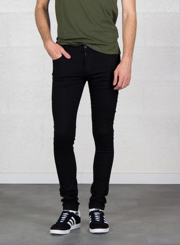 JEANS LIAM ORIGINAL, BLK DENIM, small