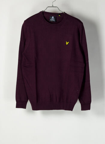MAGLIONE JUMPER, Z562BURGUNDY, small