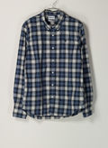CAMICIA TARTAN EASTHAM RIVER, G66NVYWHT, thumb
