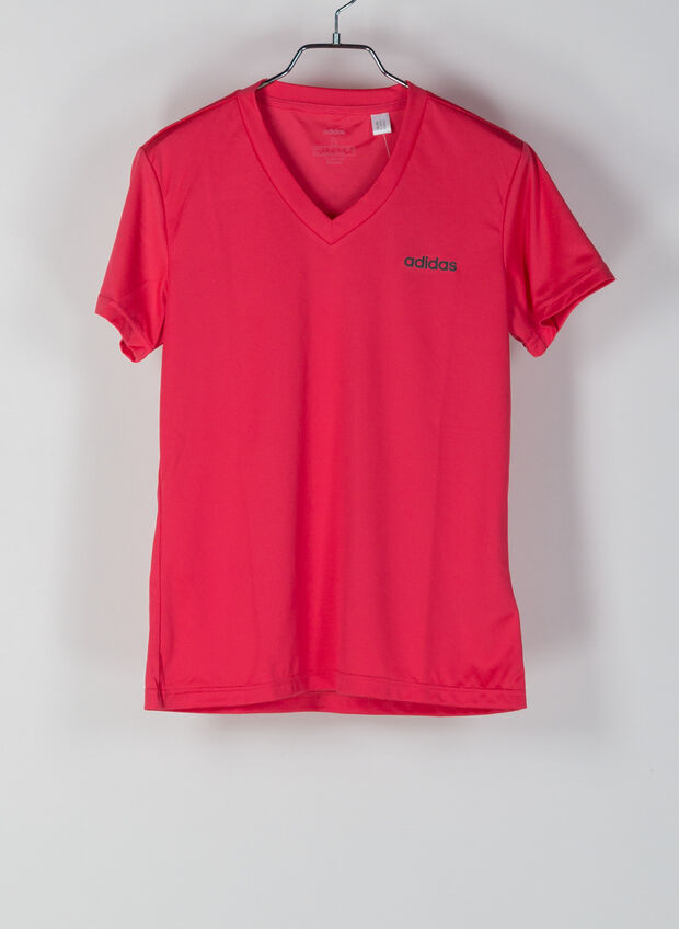T-SHIRT SOLID MOVE, FUXIA, large