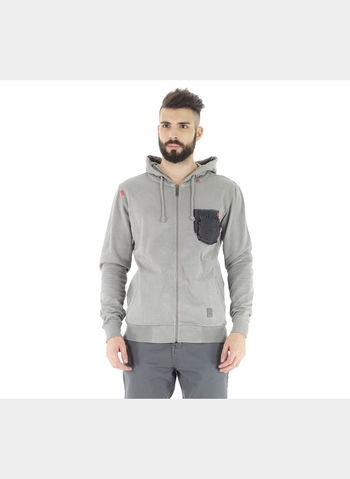 FELPA FULL ZIP TASCHINO DELAVE, 847ANTR, small
